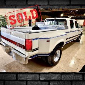 Ford heavy duty, sold car