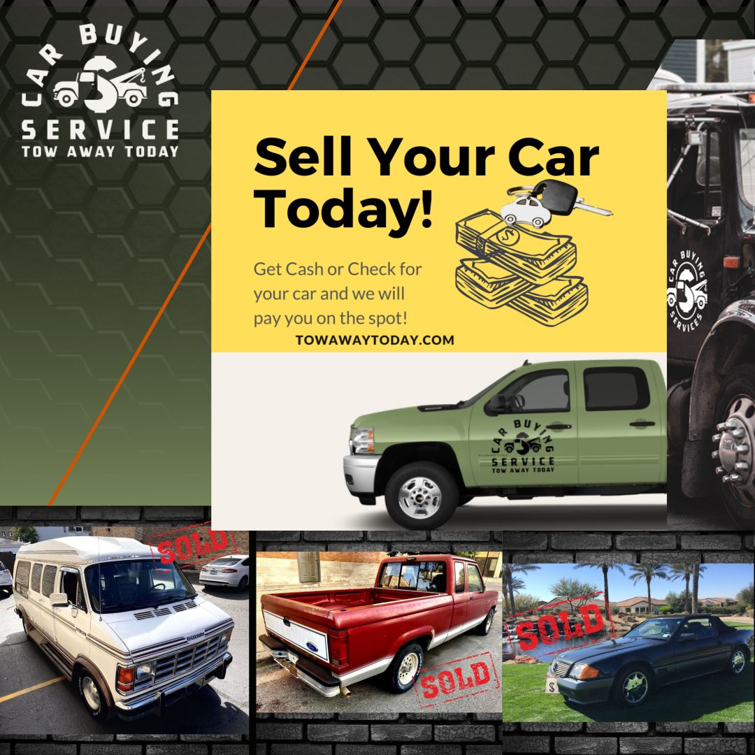 Sell my junk car fast, quick and safe