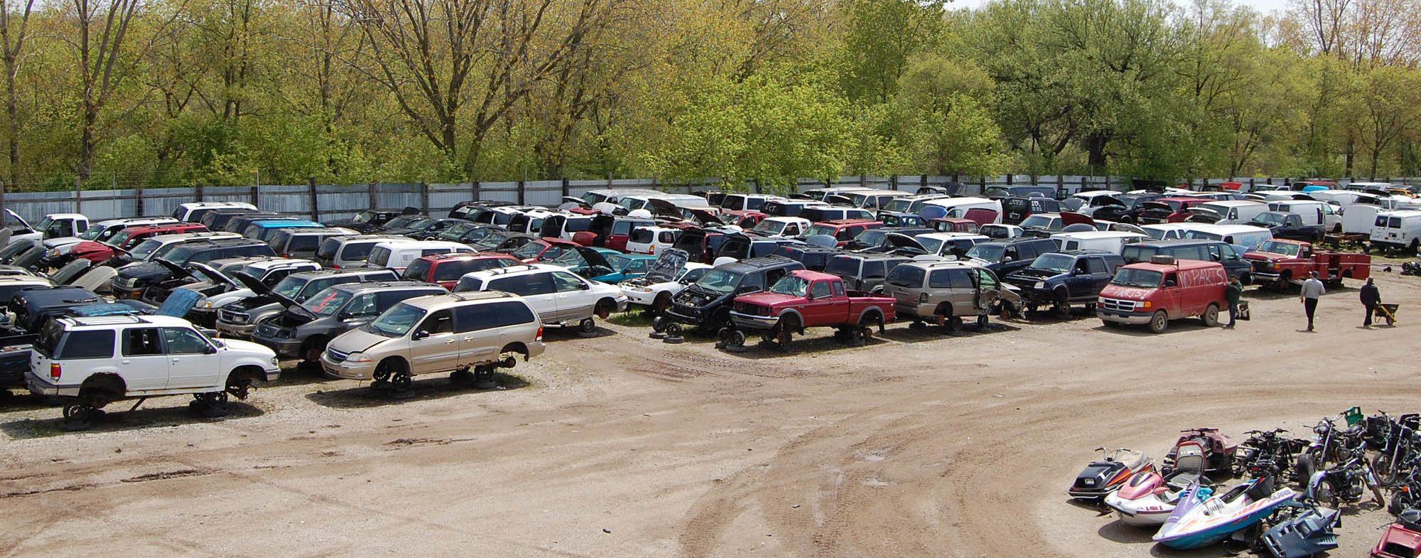 selling car to a junkyard